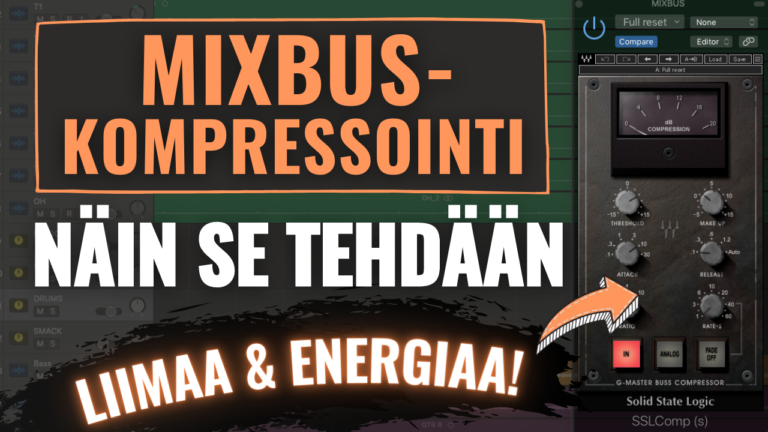 mixbus-kompressointi